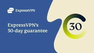 Bedre end gratis VPN-prøveperiode: ExpressVPN's 30-dages garanti