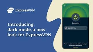 ExpressVPN 브라우저 확장 프로그램용 다크 모드 소개