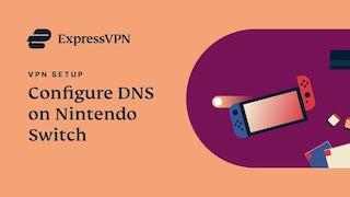 Nintendo Switch ExpressVPN DNS setup